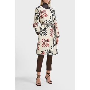 Isabel Marant Leist Oversized Original Quilt Coat
